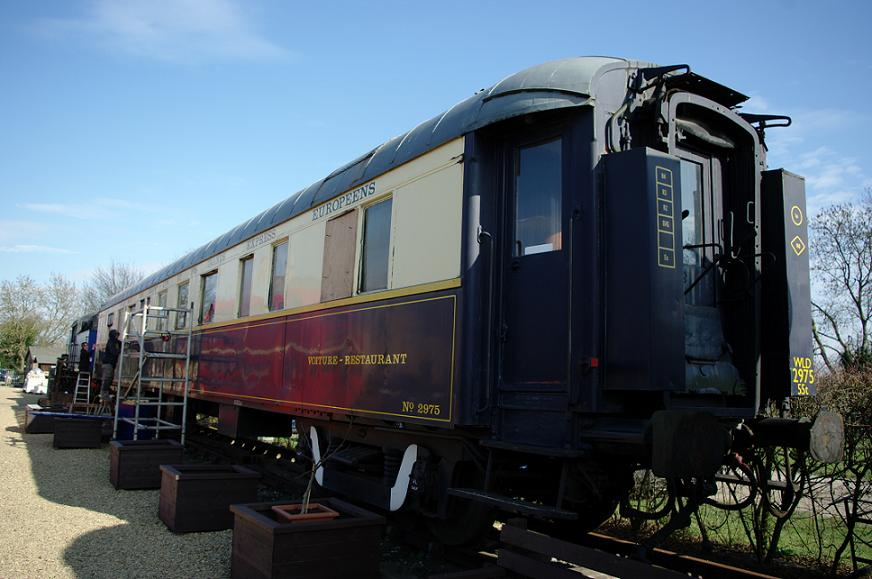 Wagons-Lits Restaurant Car WR no. 2975
