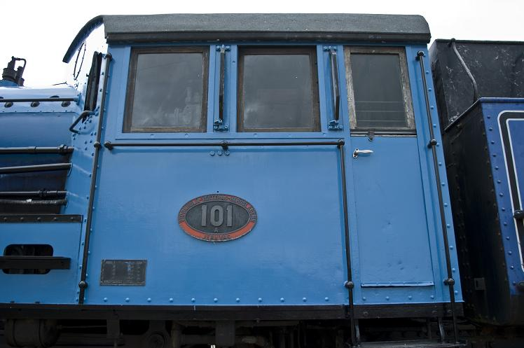 The latest part of 101 to be completed is the driving cab exterior.